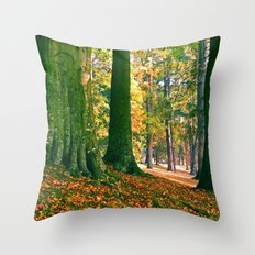 South Park trees Throw Pillow