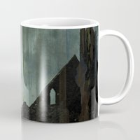 celtic Mugs featuring Celtic ruin  by IvaW