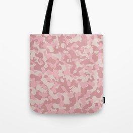 Camouflage Blush Tote Bag