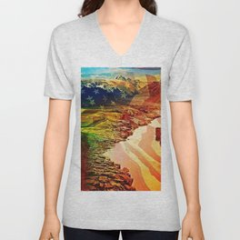 Spacious Skies Unisex V-Neck