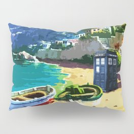 Tardis And The Beach Pillow Sham