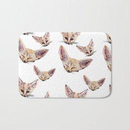 Fennec Foxes Bath Mat