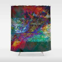 Untitled 2019, No. 7 Shower Curtain