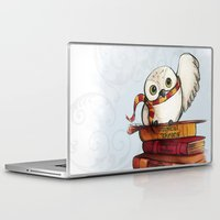 hedwig Laptop & iPad Skins featuring Hedwig by Sam Skyler
