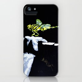 Dragonfly and I iPhone Case