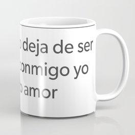 Cupido Deja de ser culero Coffee Mug