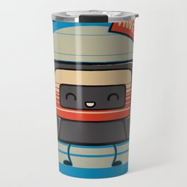 Cute Mix Tape Travel Mug