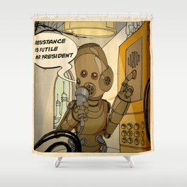 Mars is calling Shower Curtain