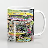 canada Mugs featuring Vivita Spa KOMIX #1 by Tex Watt