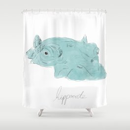 hippocrite Shower Curtain