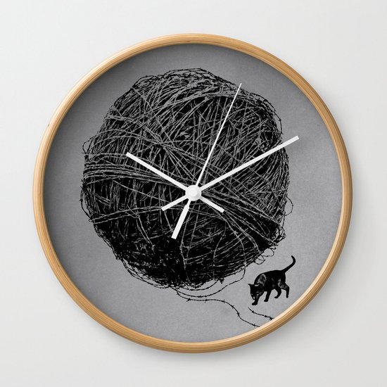 Curiosity Wall Clock