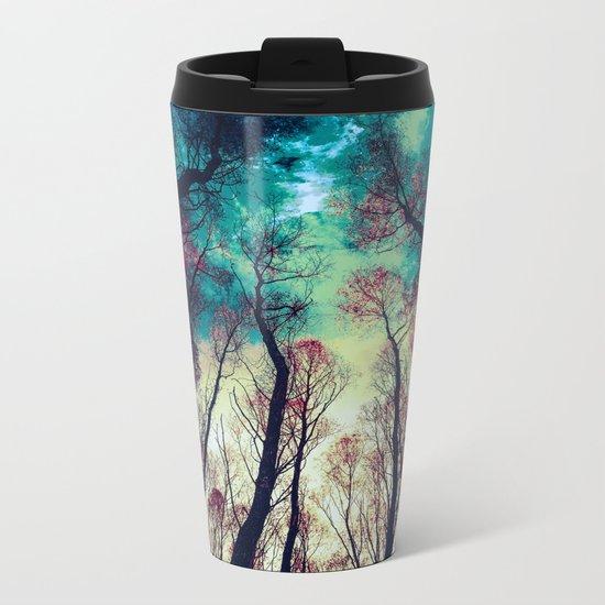 NORDIC LIGHTS Metal Travel Mug