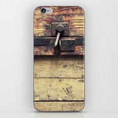 Vintage chest iPhone & iPod Skin