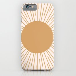 Cheerful Sun iPhone Case