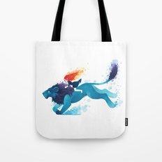 Lion Rider Tote Bag