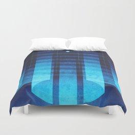Neptune - Neptunian Aurora Duvet Cover