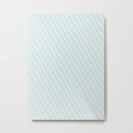 Hexagonal Metal Print