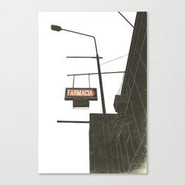 Farmacia Canvas Print