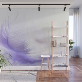 Soft feather Wall Mural