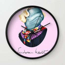 Eudora Whalety Wall Clock
