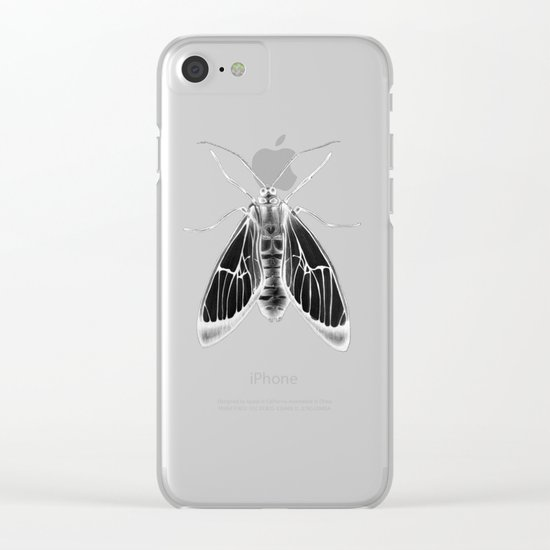 Wasp Moth II Clear iPhone Case