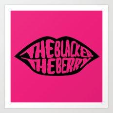 The Blacker the Berry VOL.2 Art Print