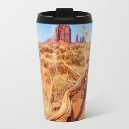 That way to Artist Point -Monument Valley Travel Mug