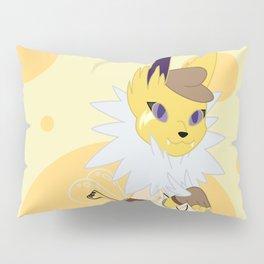 Electric Stampunk Fox Pillow Sham