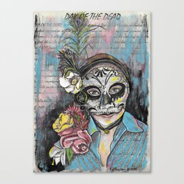 Day of the Dead 1 Canvas Print