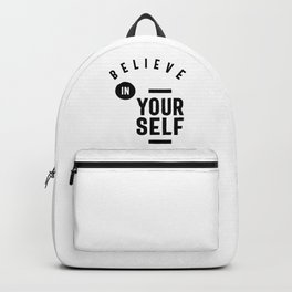 Believe in Yourself - Inspiration Backpack