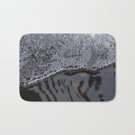 Ice and water flow Bath Mat