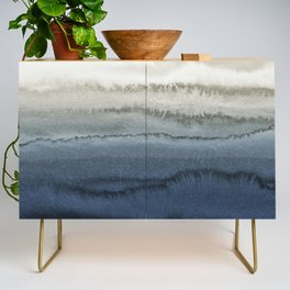 WITHIN THE TIDES - CRUSHING WAVES BLUE Credenza