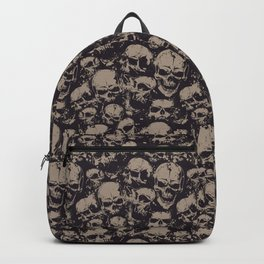 Skulls Seamless Backpack