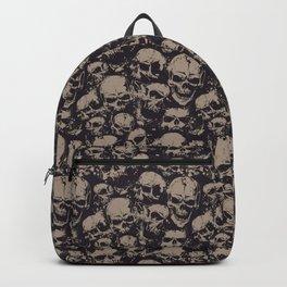 Skulls Seamless Backpack