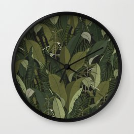 Ariana Greenery Wall Clock