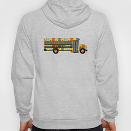 Autism Awareness School Bus Hoody