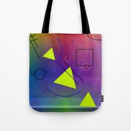 Little geometry science Tote Bag