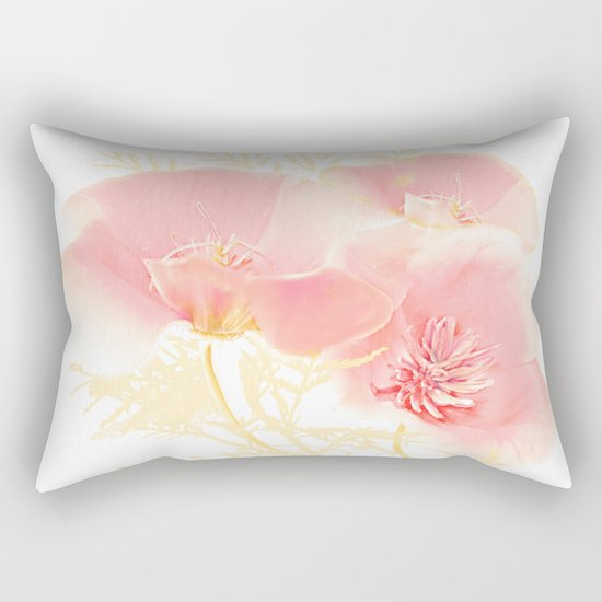 Poppies(gentle) Rectangular Pillow