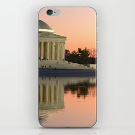 Thomas Jefferson Memorial at twilight iPhone Skin