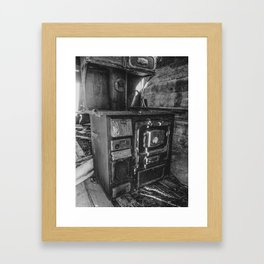 Monarch Stove Left Behind in a Ghost Town 2 Framed Art Print