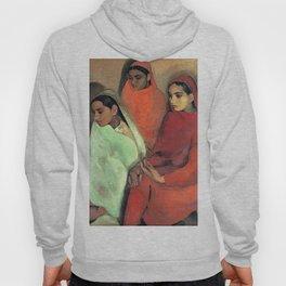 Amrita Sher-Gil - Group of Three Girls - Digital Remastered Edition Hoody
