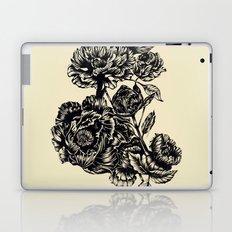 Peonies, black & white  Laptop & iPad Skin