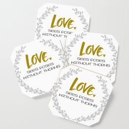 Love sees roses Coaster