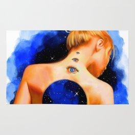 Divine Feminine 2 ( Introspection Has No End ) Rug