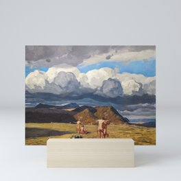 Men and Mountains by Rockwell Kent, 1909 Mini Art Print