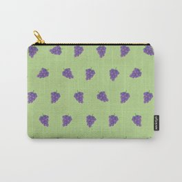 Cute Purple Grapes Picture Pattern Carry-All Pouch