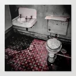 Servants' Accomodations / Floor Canvas Print