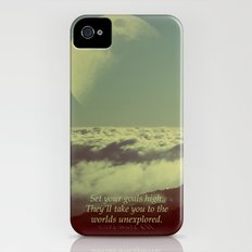 Set Your Goals High iPhone (4, 4s) Slim Case