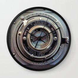 Detrola (Vintage Camera) Wall Clock