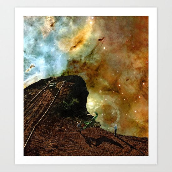 Antero space Art Print